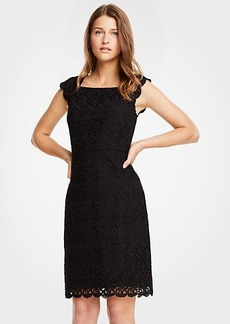 Ann Taylor Petite Lace Sheath Dress