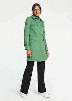 Ann Taylor Petite Mac Trench Coat