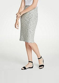 Ann Taylor Petite Marled Knit Pencil Skirt