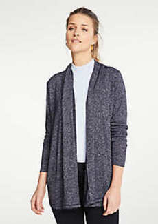 Ann Taylor Petite Marled Open Cardigan