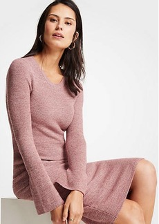 Ann Taylor Petite Marled Sweater Pencil Skirt