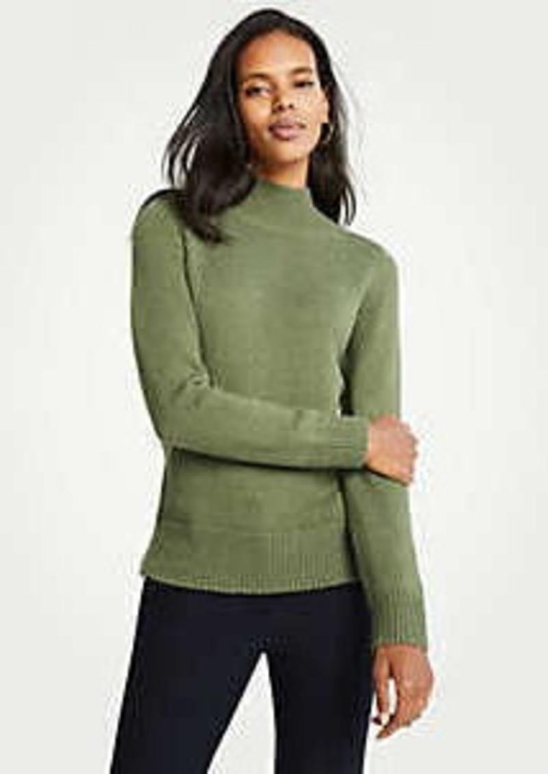 Ann Taylor Petite Marled Turtleneck Sweater