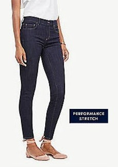 Ann Taylor Petite Modern All Day Skinny Jeans in Evening Sea Wash