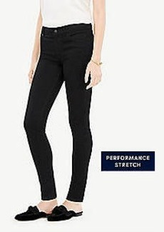 Ann Taylor Petite Performance Stretch Skinny Jeans in Jet Black