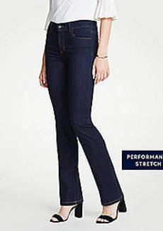Ann Taylor Petite Performance Stretch Boot Cut Jeans in Evening Sea Wash