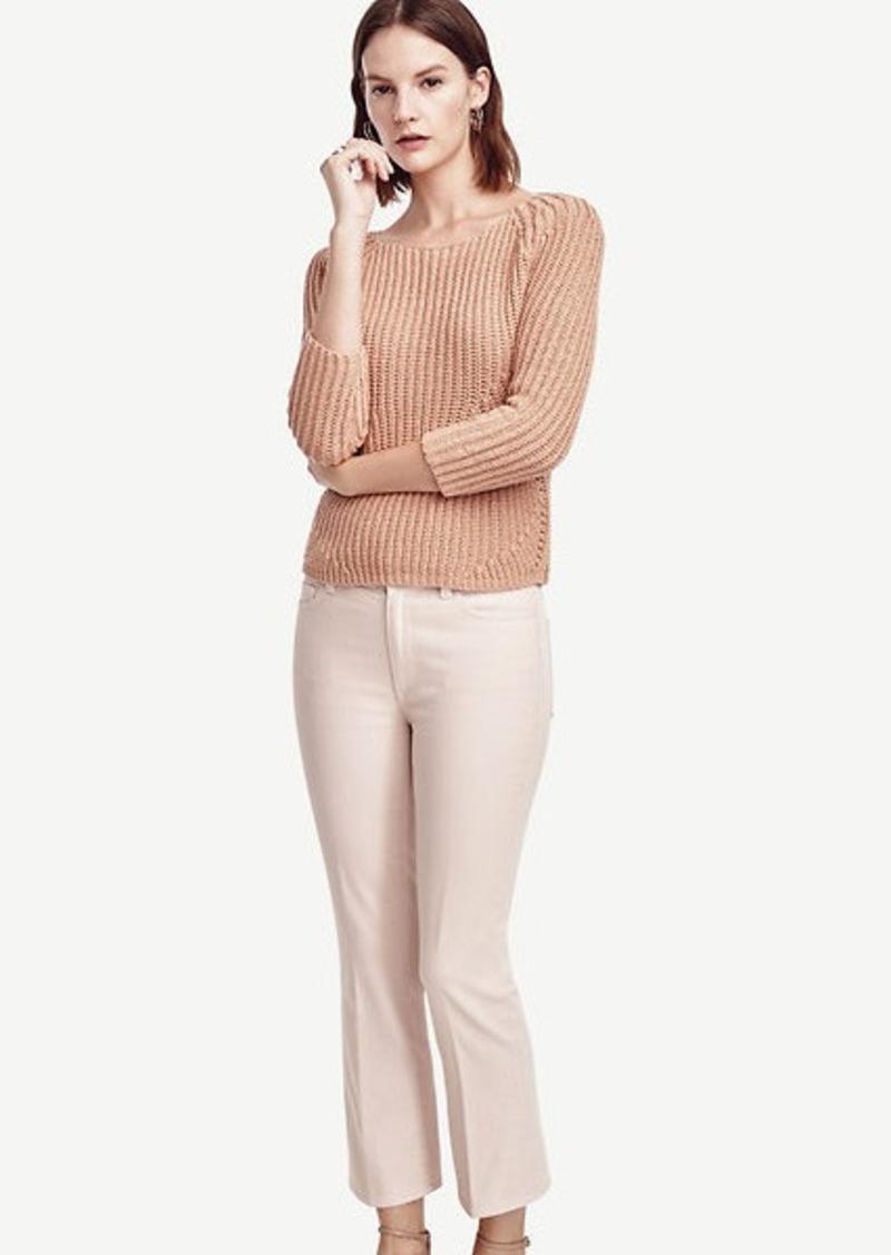 Ann Taylor Petite Modern Kick Crop Jeans