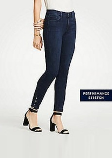 Ann Taylor Petite Modern Pearlized All Day Skinny Jeans