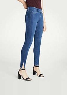 Ann Taylor Petite Modern Side Stripe All Day Skinny Jeans