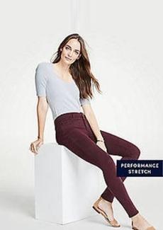 Ann Taylor Petite Modern Skinny Jeans in Sateen