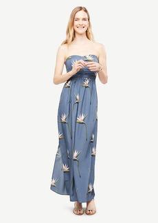 Petite Paradise Strapless Maxi Dress