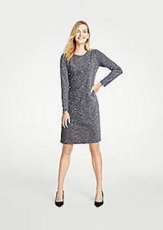 Ann Taylor Petite Pearlized Shift Dress