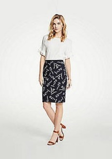 Ann Taylor Petite Pineapple Pencil Skirt