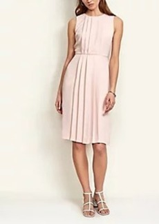 Ann Taylor Petite Pleated Sheath Dress