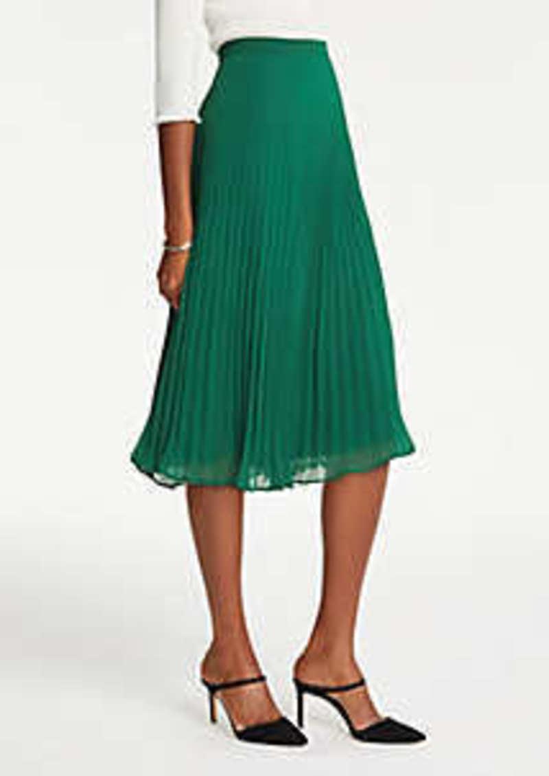 Ann Taylor Petite Pleated Skirt
