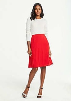 Ann Taylor Petite Pleated Skirt