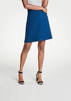 Ann Taylor Petite Pocket A-Line Skirt