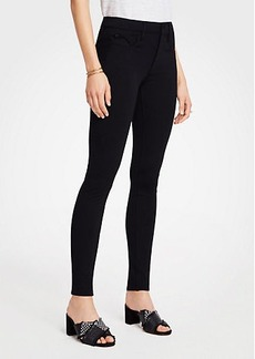 Ann Taylor Petite Ponte Five Pocket Leggings