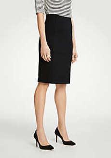 Ann Taylor Petite Ponte Pencil Skirt