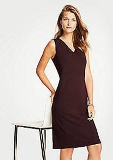 Ann Taylor Petite Ponte Sheath Dress