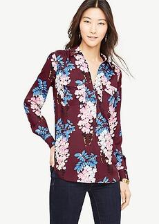 Petite Pretty Petals Camp Shirt