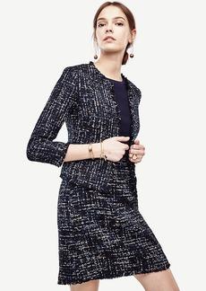 Ann Taylor Petite Refined Tweed Jacket