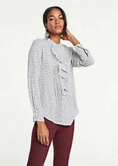 Ann Taylor Petite Ring Toss Icon Blouse
