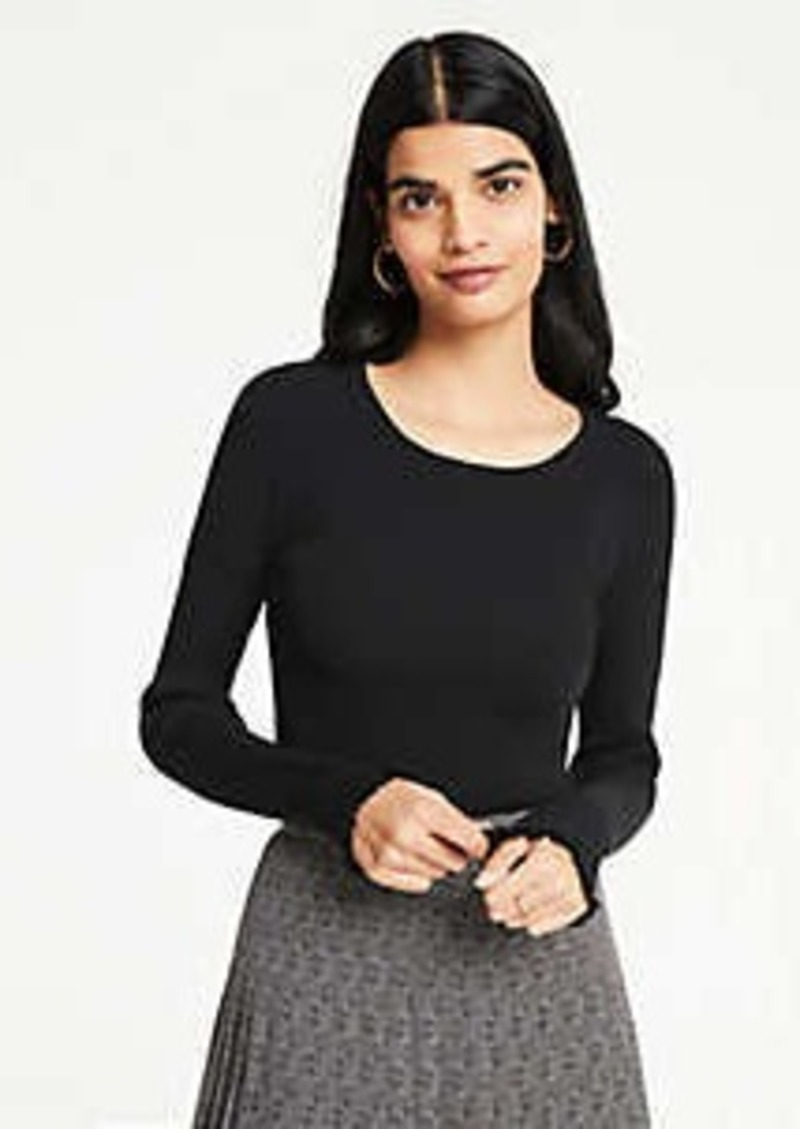 Ann Taylor Petite Perfect Pullover