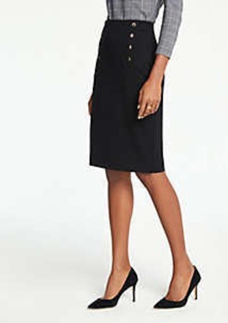 Ann Taylor Petite Sailor Pencil Skirt