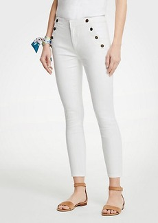 Ann Taylor Petite Sailor Skinny Crop Jeans