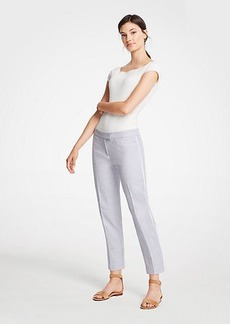 Ann Taylor Petite Scalloped Capri Pants