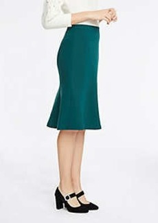 Ann Taylor Petite Seamed Flare Skirt