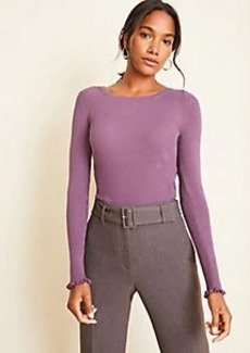 Ann Taylor Petite Seasonless Yarn Perfect Pullover