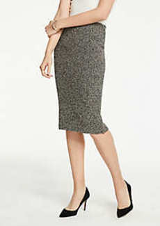 Ann Taylor Petite Shimmer Pencil Skirt