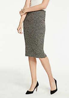 Ann Taylor Petite Shimmer Pencil Skirt