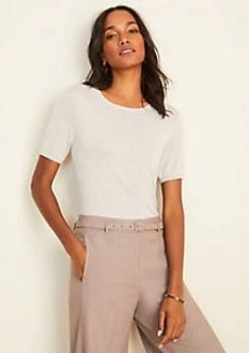 Ann Taylor Petite Short Sleeve Sweater