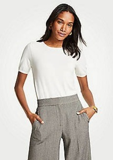 Ann Taylor Petite Short Sleeve Sweater