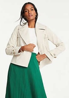 Ann Taylor Petite Short Trench Coat