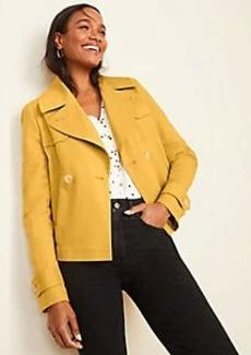 Ann Taylor Petite Short Trench Coat
