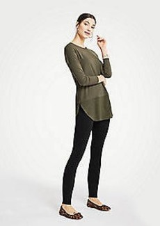 Ann Taylor Petite Side Zip Leggings