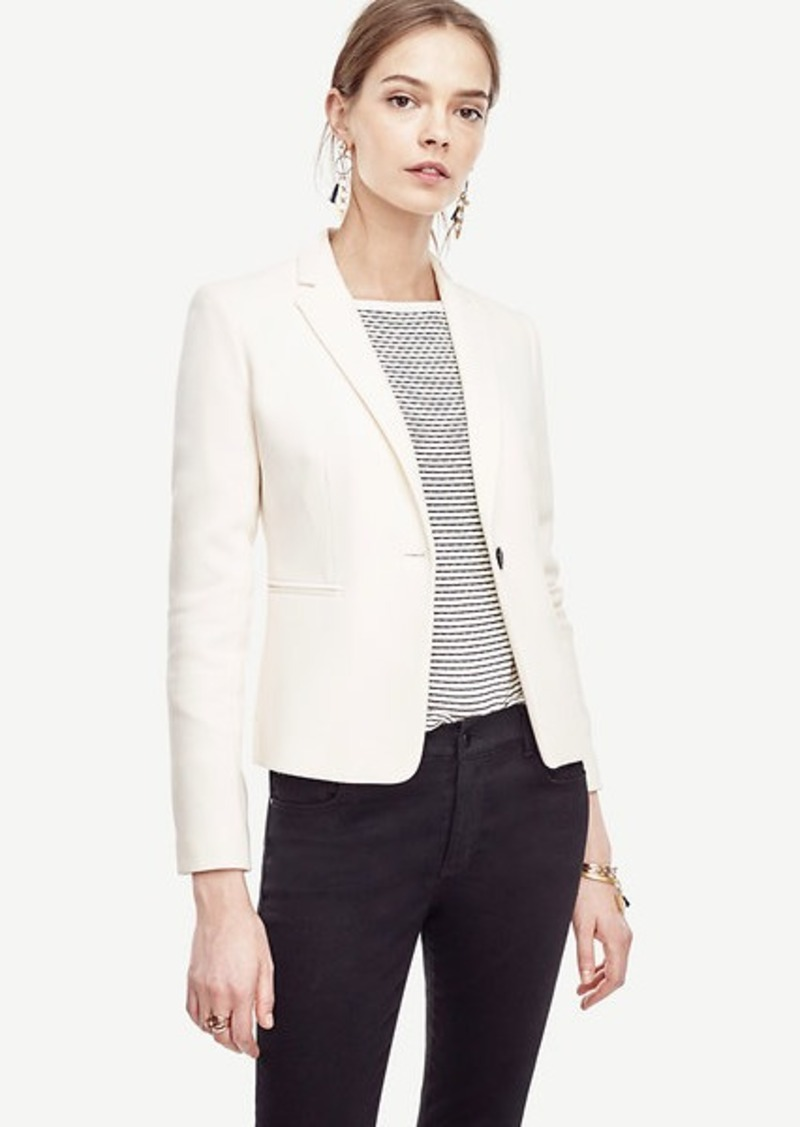 Ann Taylor Petite Single Button Blazer