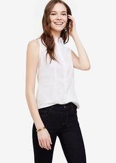 Ann Taylor Petite Sleeveless Perfect Shirt
