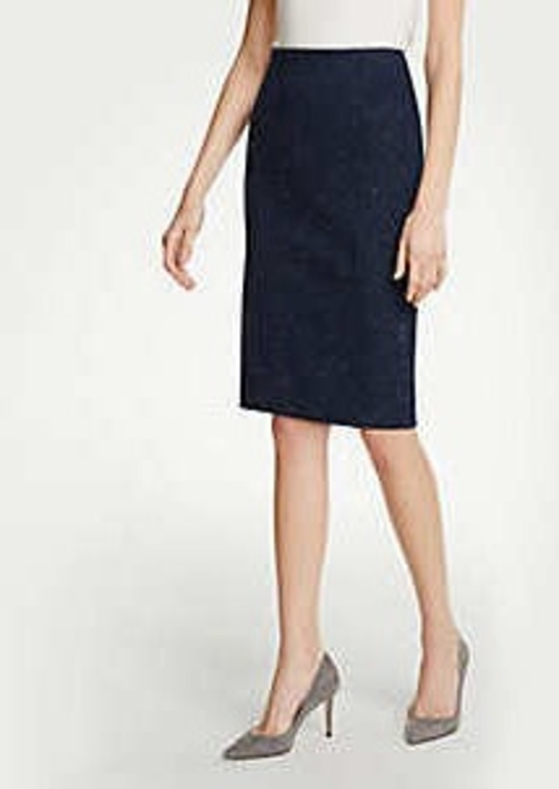 Ann Taylor Petite Speckled Pencil Skirt