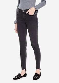 Ann Taylor Petite Step Hem All Day Skinny Jeans in Sienna Wash