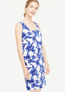 Petite Tropical Garden Shift Dress