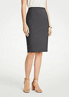 Ann Taylor Petite Tropical Wool Pencil Skirt