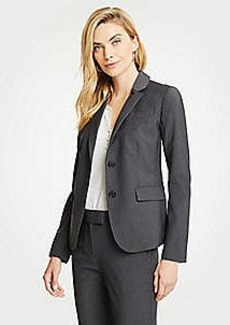 Ann Taylor Petite Tropical Wool Two Button Jacket