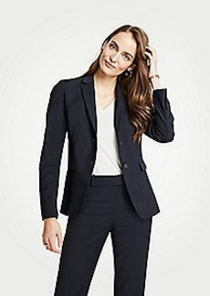Ann Taylor The Petite 2-Button Blazer in Tropical Wool