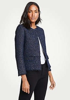 Ann Taylor Petite Tweed Jacket