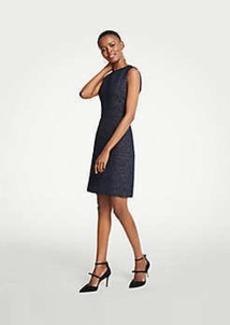 Ann Taylor Petite Tweed Sheath Dress