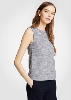 Ann Taylor Petite Tweed Shell